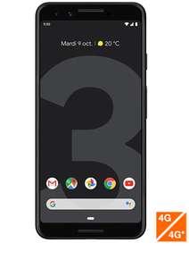 """Smartphone 5.5"""" Google Pixel 3 - 64 Go, Noir, Débloqué"""