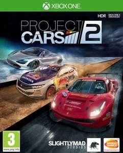 Project Cars 2 sur Xbox One (Via Application Mobile)