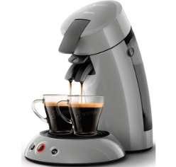 Machine à café Philips Senseo Original HD6553/11 (Via 11€ sur la Carte fidélité)