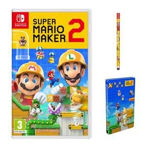 Super Mario Maker 2 + Stylet + Steelbook sur Nintendo Switch