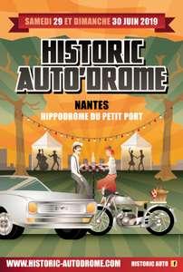 Entrée 1 jour à l'Historic Auto'Drome rassemblement de véhicules anciens - Nantes (44)