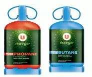 Bouteille de gaz U Energie 13 kg - Propane ou Butane