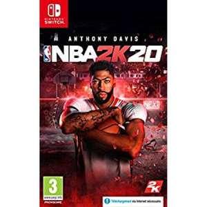 [Précommande] NBA 2k20 sur Nintendo Switch