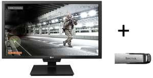 """Écran PC 24"""" LG 24GM79G-B - LCD, 1080p, 144Hz, 2 ms + Clé USB 3.0 SanDisk Ultra Flair"""