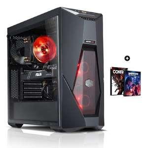 PC fixe Gamer Elite 9.0 - Intel i5-9500f, RTX 2060 Super OC (8Go), RAM 16Go, SSD 480Go, Alim 600W, Boîtier Cooler Master K500L + 2 jeux PC