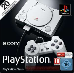 Console Sony Playstation Classic (Frontaliers Allemagne)
