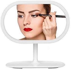 Miroir Kranich avec leds 5500K - Batterie 2000mAh, USB, Blanc (Vendeur Tiers)