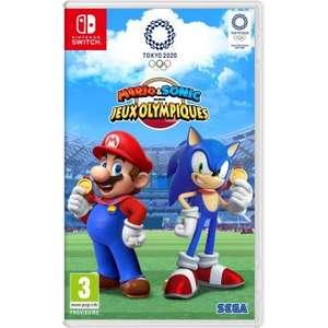[Pré-commande / Adhérents] Mario & Sonic aux Jeux Olympiques de Tokyo 2020 sur Nintendo Switch (+ 10€ sur le compte fidélité)