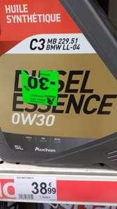 Huile moteur synthétique 0W30 ACEA C3 BMW LL04 (Essence et Diesel) - Strasbourg (67)
