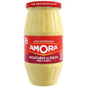 Moutarde de Dijon Amora Fine et forte - 440g (Via BDR)