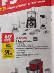 Robot multifonction Bosch MCM3501M