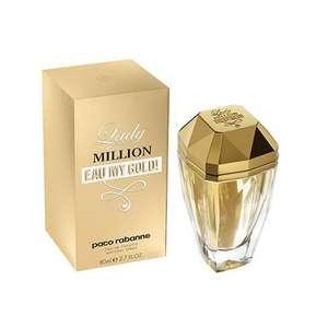 Selection de Parfums en promo - Ex: Paco Rabanne Lady Million Eau my Gold - 50 ml