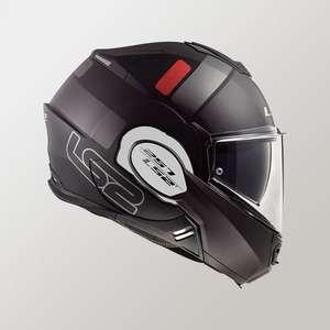 Casque Moto LS2 FF399 Titanium Valiant Prox
