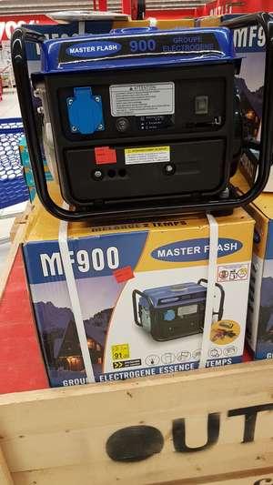 Groupe électrogène Master Flash MF900 - 720 W, Moteur essence 2 temps (Carrefour Portet-sur-Garonne - 31)