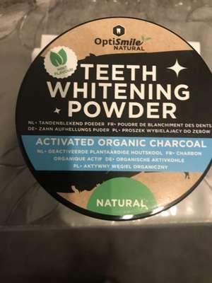 poudre blanchissante pour les dents OptiSmile Natural