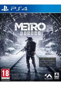 Metro Exodus + Bonus DLC + Guide Spartan Survival sur PS4