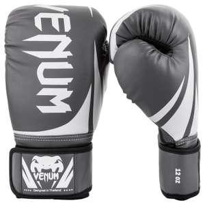 Gants de boxe Venum Challenger 2.0 - Gris / Blanc, 16 Oz