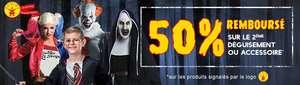 50% remboursés pour l'achat de 2 déguisements ou accessoires Rubie's parmi une sélection - Deguisetoi.fr