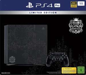 Console Sony PS4 Pro 1 To - Edition Limitée Kingdom Hearts III + Jeu Kingdom Hearts III version Deluxe (Frontaliers Allemagne)