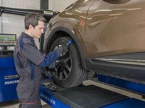 50% de réduction sur le réglage parallélisme avant en centre auto Leclerc (Sauf 4x4 et Utilitaires)