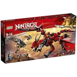 Jouet Lego Ninjago - Le dragon Firstbourne 70653 (via 13€ sur la carte de fidélité + 10€ en bon d'achat)