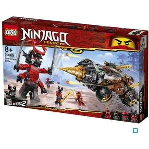 Jeu de Construction LEGO Ninjago 70669 - La foreuse de Cole (via 8,50€ sur la carte fidélité)
