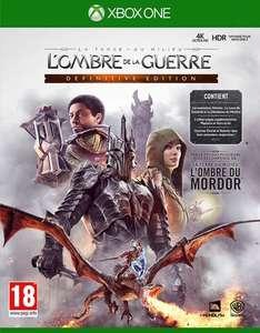 La Terre du Milieu : L'Ombre de La Guerre Edition Définitive sur Xbox One