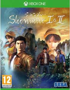 Shenmue I & II sur XBOX ONE - ( Vendeur Tiers )