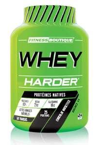 Protéine Whey Harder (Goûts au choix) - 800 g