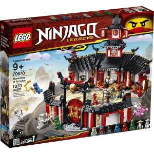 Jouet Lego Ninjago 70670 - Le monastère de Spinjitzu (Via 16€ sur la carte de fidélité + 10€ en Bon d'achat)