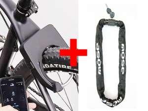 Pack 2 antivols Mose Smart Lock+Chaîne (ecycle.fr)