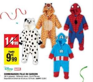 Combinaison pyjama Disney et Marvel pour Bébés / Enfants - Puiseux-Pontoise (95)