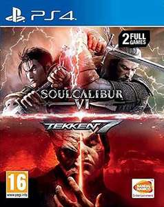 SoulCalibur VI + Tekken 7 sur PS4 (Frontaliers Belgique)