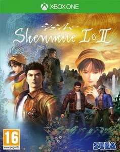 Jeu Shenmue I & II sur Xbox One
