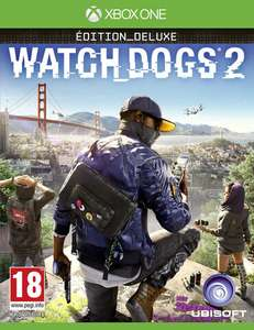 Watch Dogs 2 Edition Deluxe sur Xbox One (Via l'application)