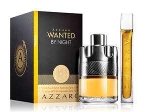 Coffret cadeau eau de parfum Azzaro Wanted by night 100ml + 15ml