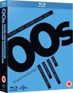 Coffret Blu-Ray That Define a Decade '00s - 8 mile + La mémoire dans la peau + Shaun of the dead + Mamma mia!