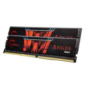 Kit mémoire DDR4 G.Skill Aegis 32 Go (2 x 16Go) - 3000 MHz, CL16