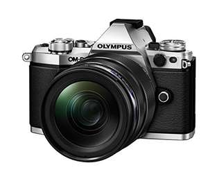 Appareil photo hybride Olympus E-M5 mark II Argent + objectif 12-40mm f/2.8 Pro