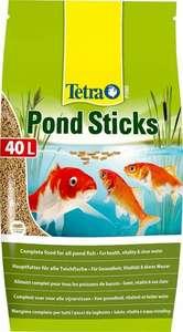 Sac de nourriture pour poisson TetraPond Sticks - 50L (40L + 10L)