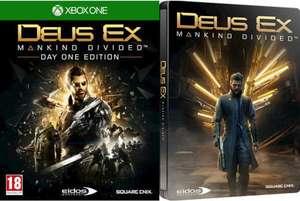 Deus Ex Mankind Divided Edition Steelbook sur Xbox One