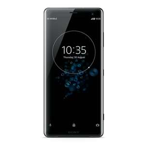 "Smartphone 6"" Sony Xperia XZ3 - WQHD+, SnapDragon 845, 4 Go de RAM, 64 Go, noir"