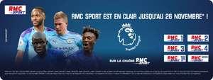[Abonnés] Chaîne RMC Sport visionnable gratuitement jusqu'au 26 Novembre