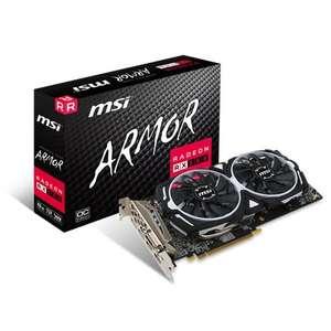 Carte graphique MSI AMD Radeon RX 580 Armor OC - 8 Go + 3 mois d'accès Xbox Game Pass (151.90€ via Google Shopping)