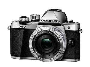 Appareil photo numérique Olympus E-M10 Mark II + 14-150mm + 45mm F1.8