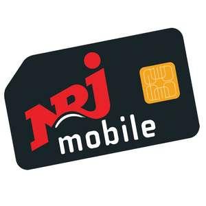 [Nouveaux Clients] Forfait NRJ Mobile - Appels/SMS/MMS illimités + 200 Go de DATA (Sans engagement - Pendant 12 mois)