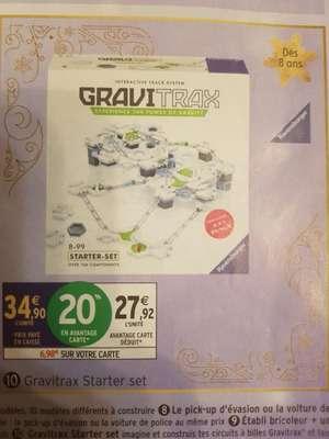 Jeu d'expérience Ravensburger Gravitrax Starter Set (Via 6.98€ sur la carte)