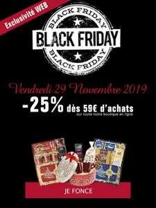 25% de réduction dès 59€ d'achat (latrinitaine.com)