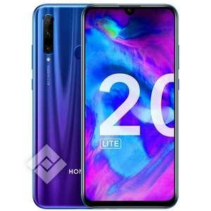 "Smartphone 6.2"" Honor 20 Lite phantom blue ou black - Full HD+, Kirin 710, RAM 4 Go, 128 Go (Frontaliers Belgique)"