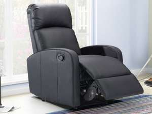 Fauteuil relax en simili Isao